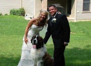 jon jenn wedding day